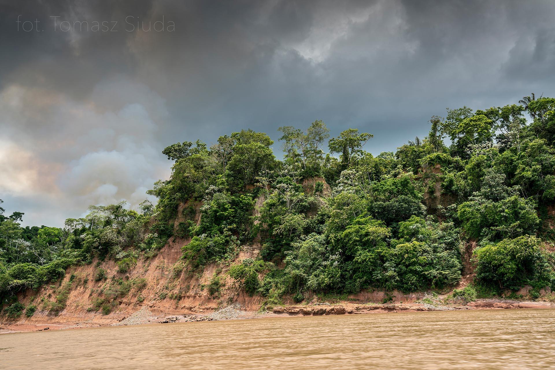 Zdjęcie Tomasza Siudy z Amazonii