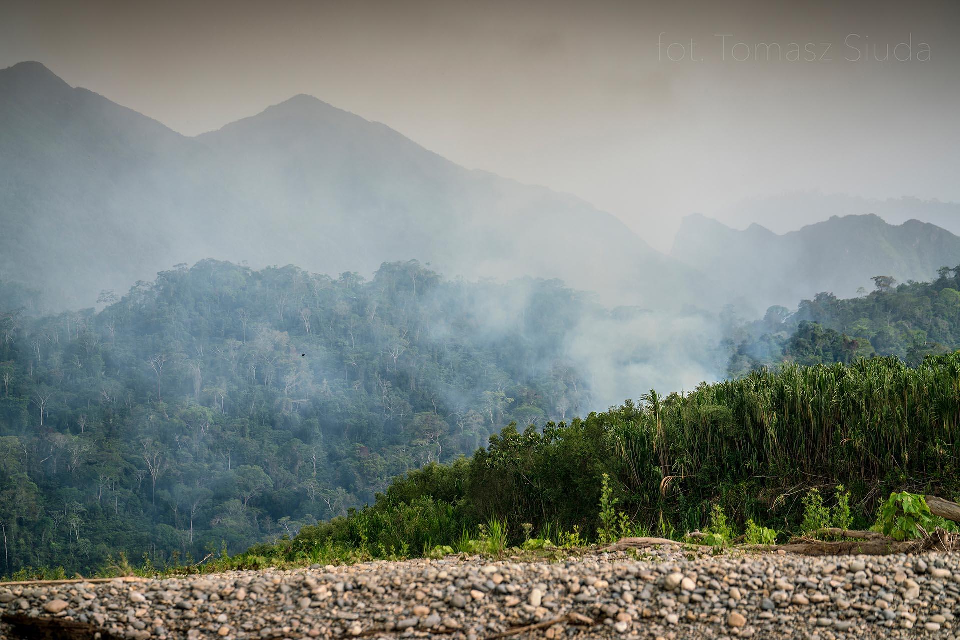 Amazonia w ogniu - Tomasz Siuda